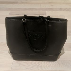 Guess leather purse. Black, no strap